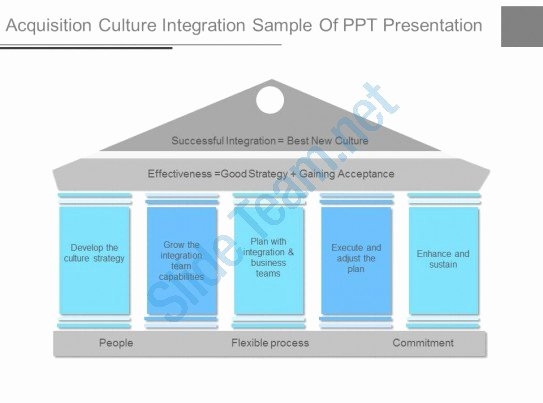 Acquisition Integration Plan Template Inspirational Pptx Acquisition Culture Integration Sample Ppt