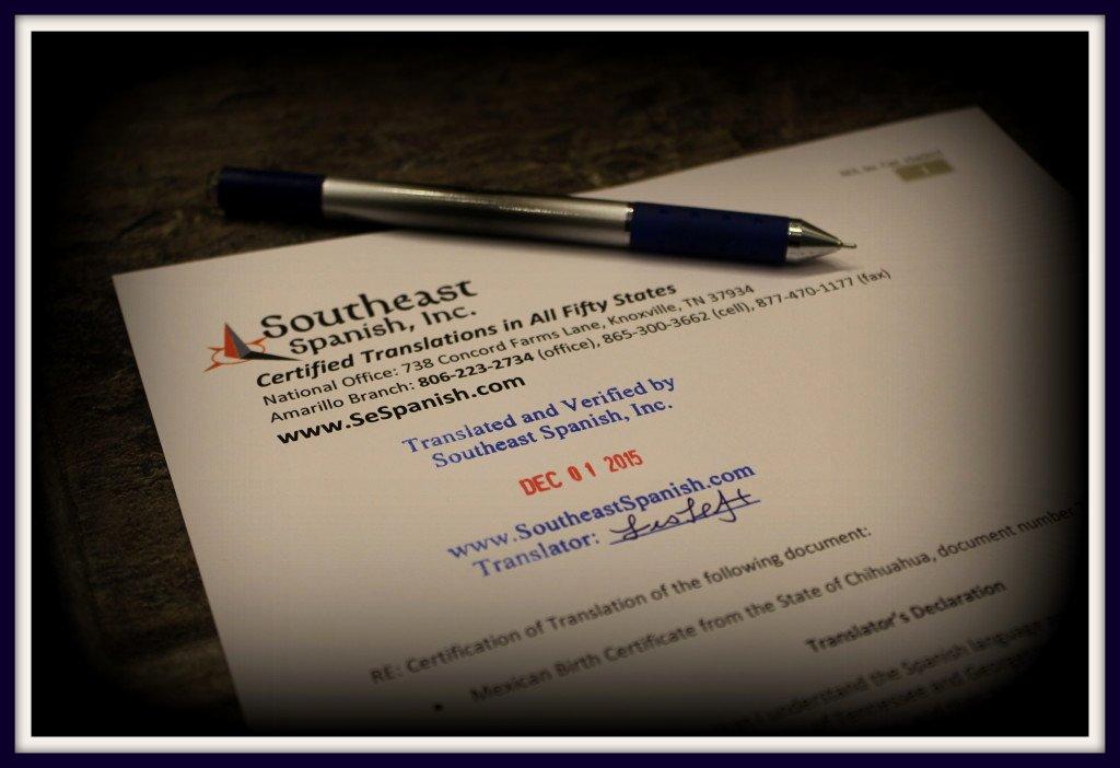 Acta Inextensa De Nacimiento English Translation Fresh Document Translation In Amarillo
