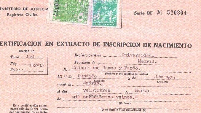 Acta Inextensa De Nacimiento English Translation Lovely Español La Traducción Del Certificado De Nacimiento