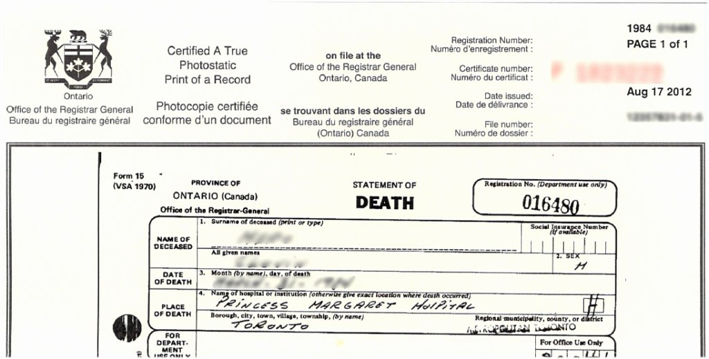 Acta Inextensa De Nacimiento English Translation Lovely How to Find A Death Certificate In Tario