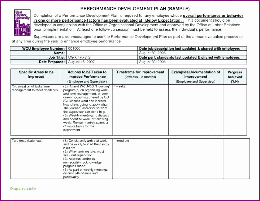 Action Plan Template for Employee Elegant Project Management Training Plan Template – Tracenumberr