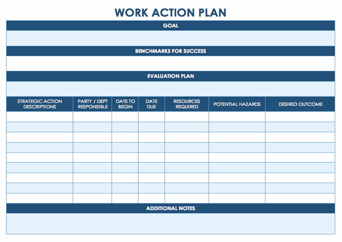 Action Plan Template Pdf Lovely Task Management Template Worksheet Calendar Printable