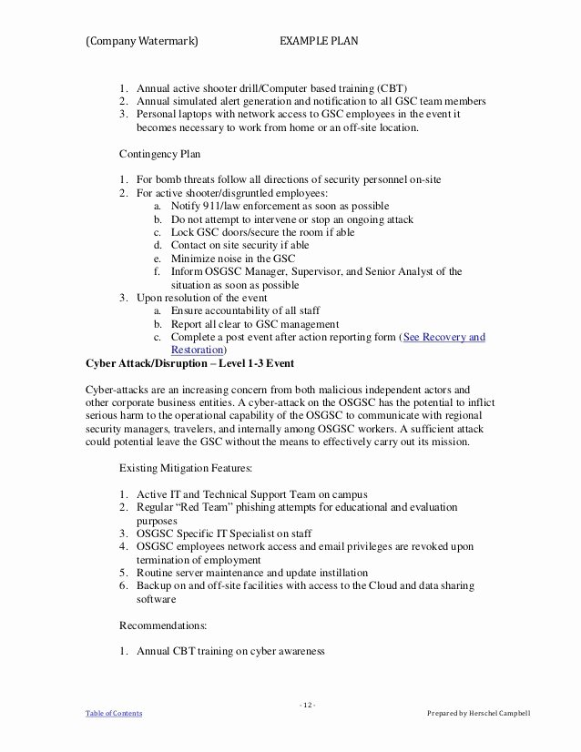 Active Shooter Plan Template Elegant Active Shooter Plan Template Active Shooter Plan Template