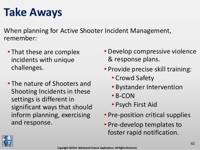 Active Shooter Plan Template Unique Prehensive Active Shooter Incident Management