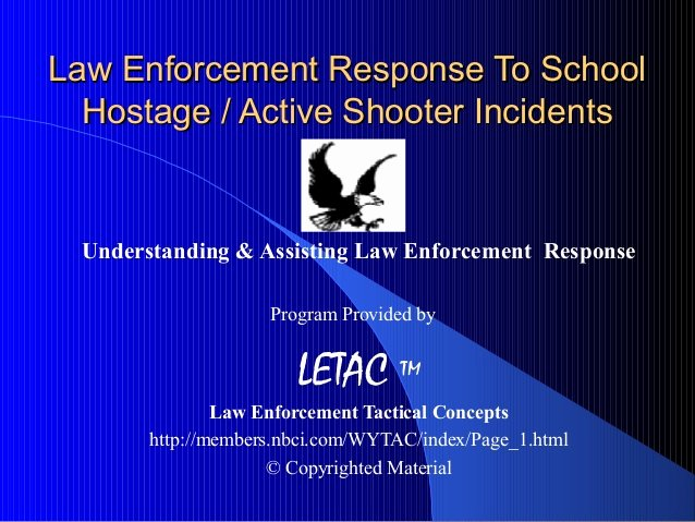 Active Shooter Response Plan Template Fresh Law Enforcement Response to School Hostage Active Shooter