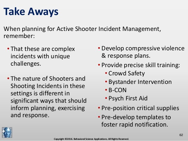 Active Shooter Response Plan Template Luxury Prehensive Active Shooter Incident Management