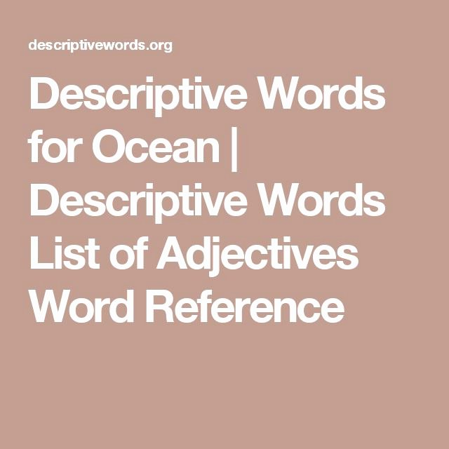 Adjectives for Letter Of Recommendation Unique Best 25 List Of Adjectives Ideas On Pinterest