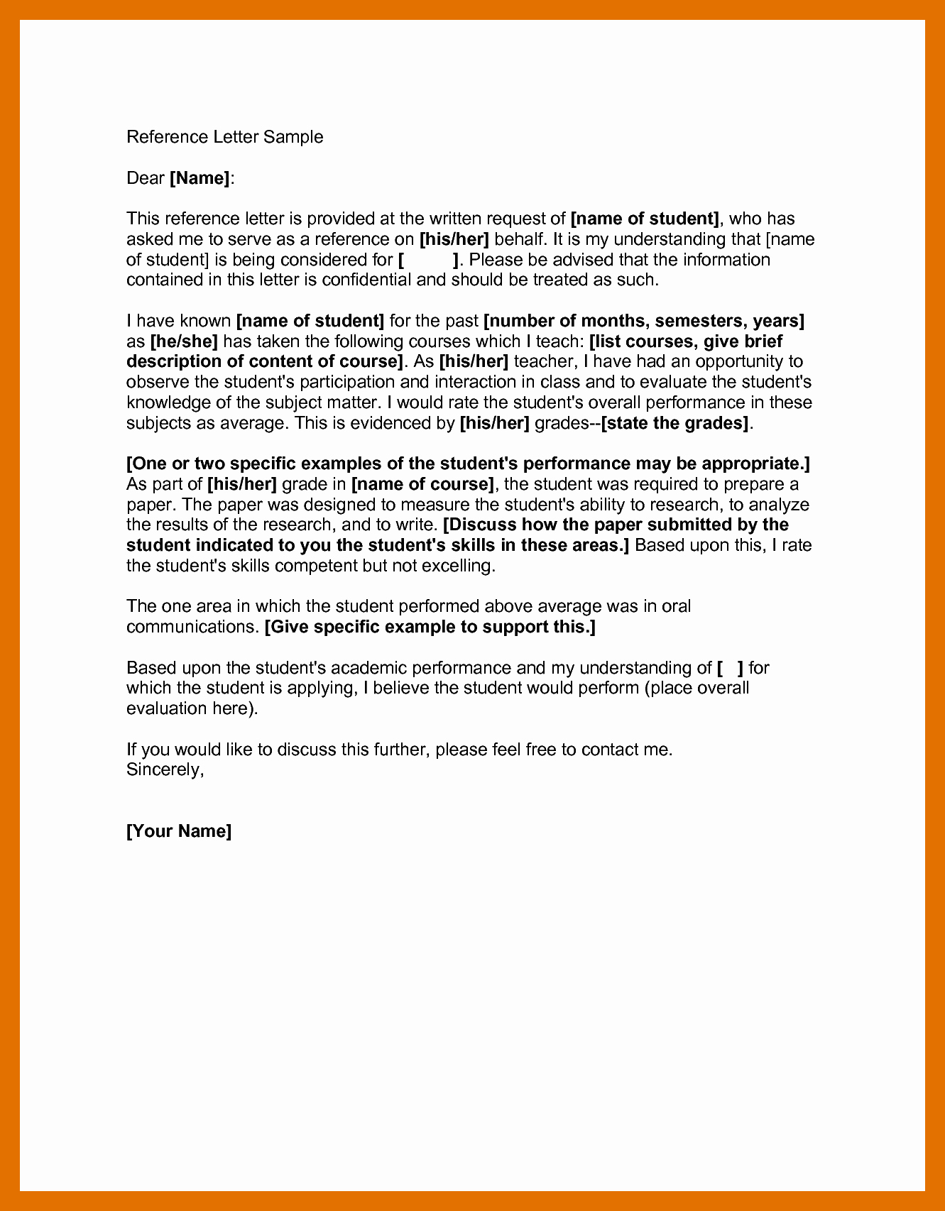Adoption Recommendation Letter Sample Inspirational 3 4 Letter Of Re Mendation for Adoption