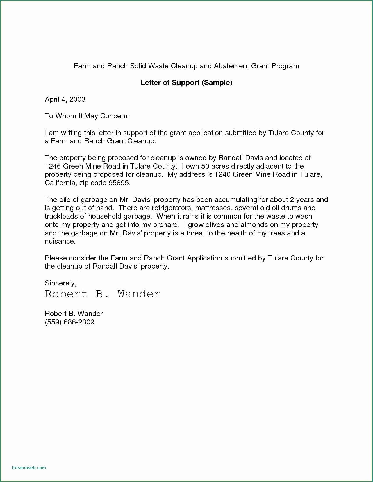 Affidavit Of Support Example Letters Elegant Affidavit Support Example Letters I 751 Cover Letter