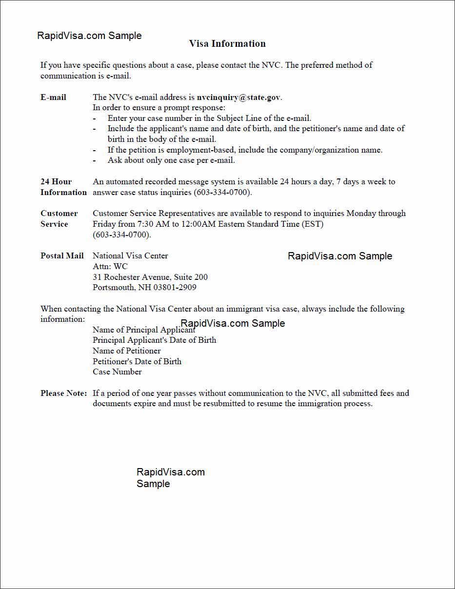Affidavit Support Letter Elegant Usa Immigration Document Library 2019 Rapidvisa