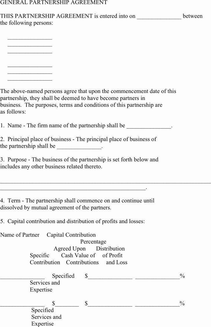 Affiliate Partnership Agreement Template Best Of Business Partner Buyout Agreement Template Detail Download