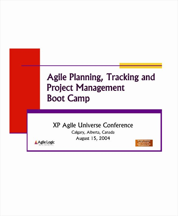 Agile Project Plan Template New 8 Agile Project Plan Template and Samples Pdf