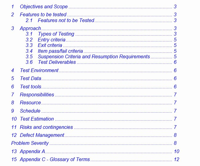 Agile Test Plan Template Unique Agile Qa Test Plan Template Templates Resume Examples