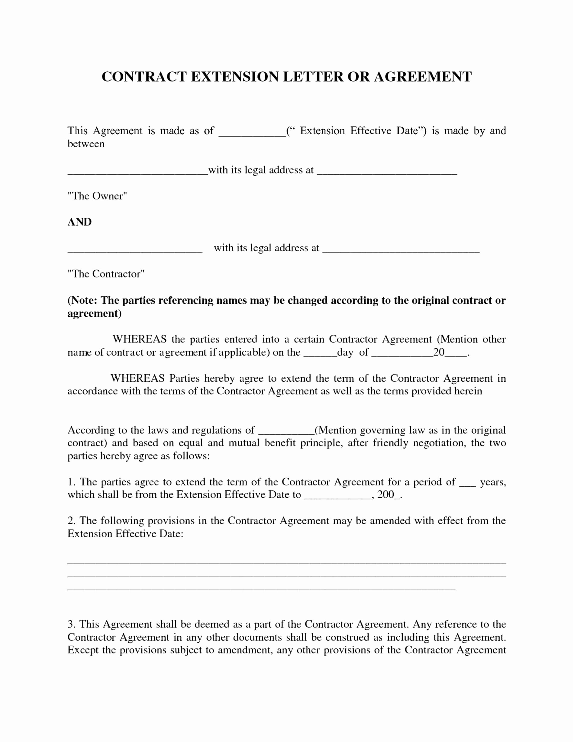 Agreement Letter Between Two Parties Template Awesome Letter Agreement Template Between Two Parties Collection