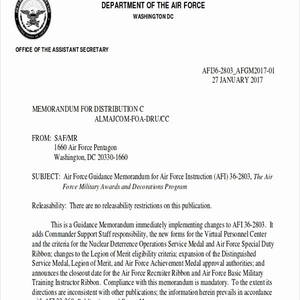Air force Letter Of Recommendation Elegant Army Award Re Mendation Letter Example Wallpaperall