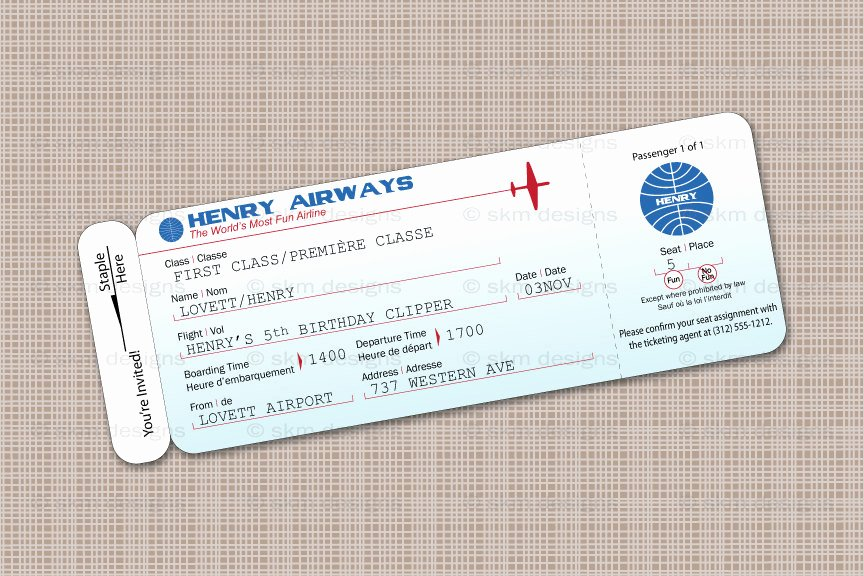 Airline Ticket Gift Certificate Template Lovely 28 Of Plane Ticket Template for Gift