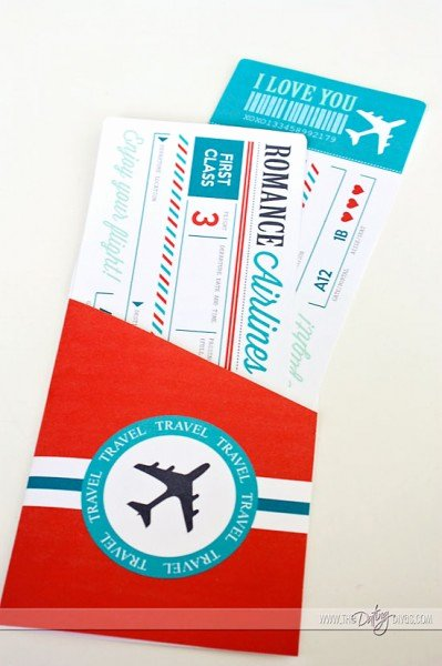 Airline Ticket Gift Certificate Template Lovely Passport to Love
