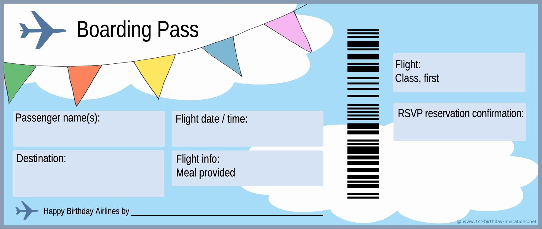 Airline Ticket Gift Certificate Template New Free Boarding Pass Template Google Search