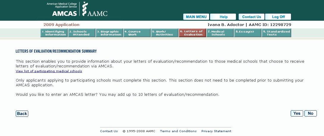 Amcas Letter Of Recommendation Guide Elegant Medical School M D Application Letters Of