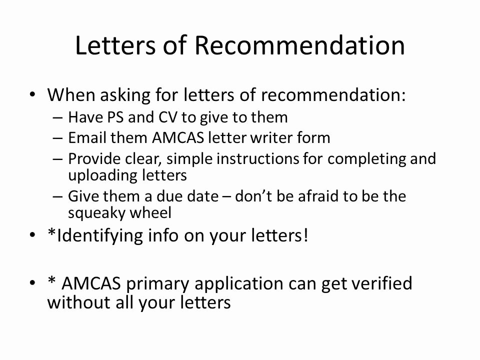 Amcas Letter Of Recommendation Guidelines Elegant Amcas Letter Re Mendation Example