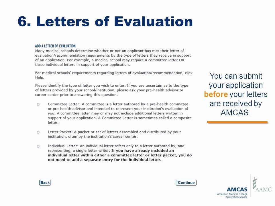 Amcas Letter Of Recommendation Guidelines Unique Amcas Letter Re Mendation Example