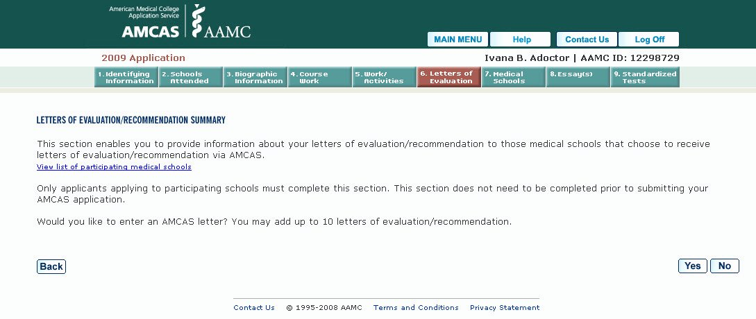 Amcas Letter Of Recommendation Sample Fresh Medical School M D Application Letters Of