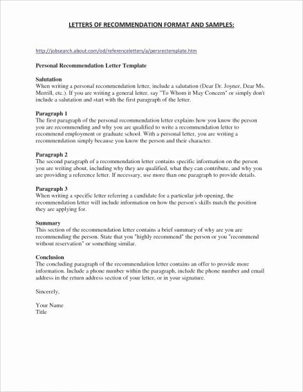 Amcas Letter Of Recommendation Sample New Amcas Letter Re Mendation Example