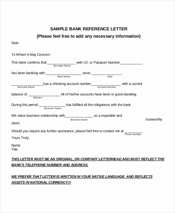 Amcas Recommendation Letter Guidelines Elegant Request Letter Bank Balance Confirmation
