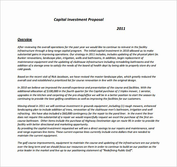 Angel Investor Proposal Template Elegant 18 Investment Proposal Templates Word Pdf Pages