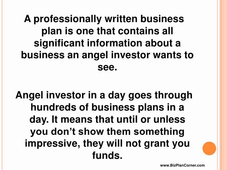 Angel Investor Proposal Template Lovely Business Plan and Investors Writingfixya Web Fc2
