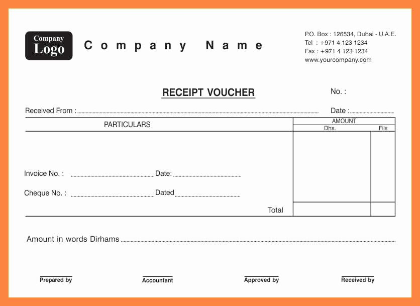 Another Word for Receipt Fresh Receipt Voucher format Word Rv 05 Big Resume Package