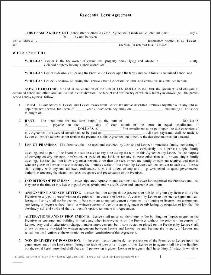 Apartment Lease Transfer Agreement Template Awesome 7 Apartment Lease Agreement Template Sampletemplatess