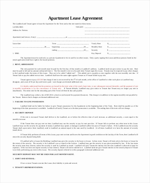 Apartment Lease Transfer Agreement Template Lovely Apartment Lease Pdf Apartment Decorating Ideas