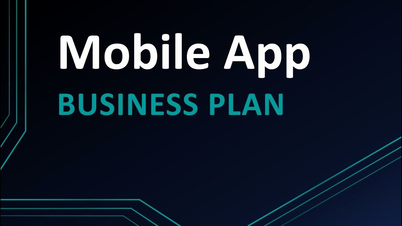 App Business Plan Template Inspirational Mobile App Business Plan Template