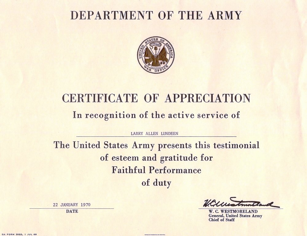Army Award Certificate Template Awesome Untitled 1 [a70thvets]