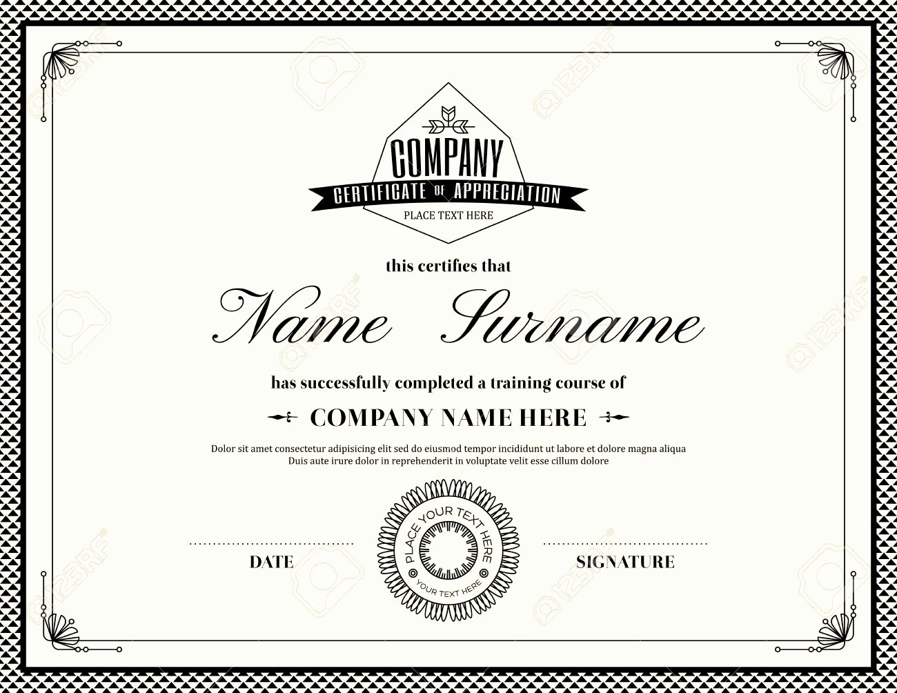 Army Award Certificate Template Best Of Army Award Template Reverse Search