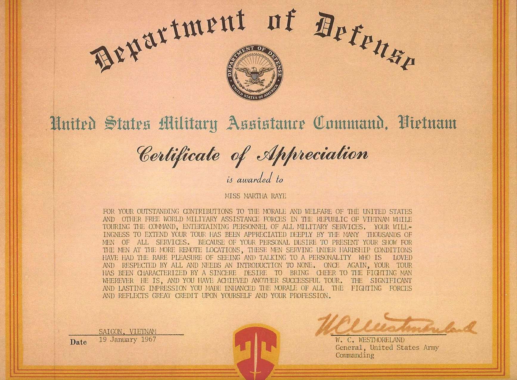 Army Award Certificate Template Fresh Army Certificate Appreciation Example Mughals