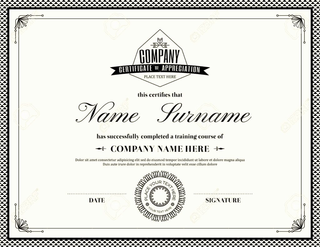 Army Award Certificate Template Inspirational Military Certificate Appreciation Template Smith