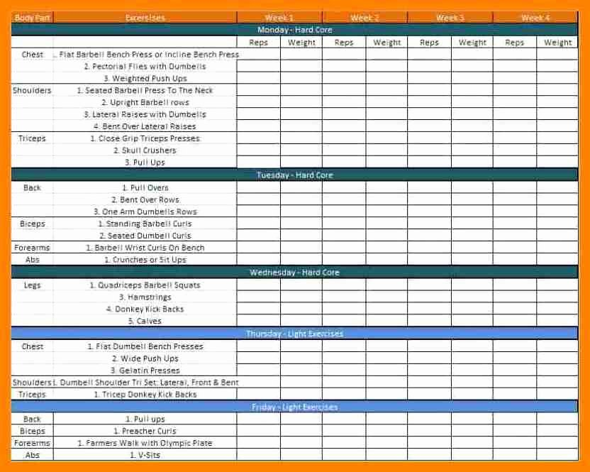 Army Pt Plan Template Beautiful 28 Of Military Reserve Training Plan Template