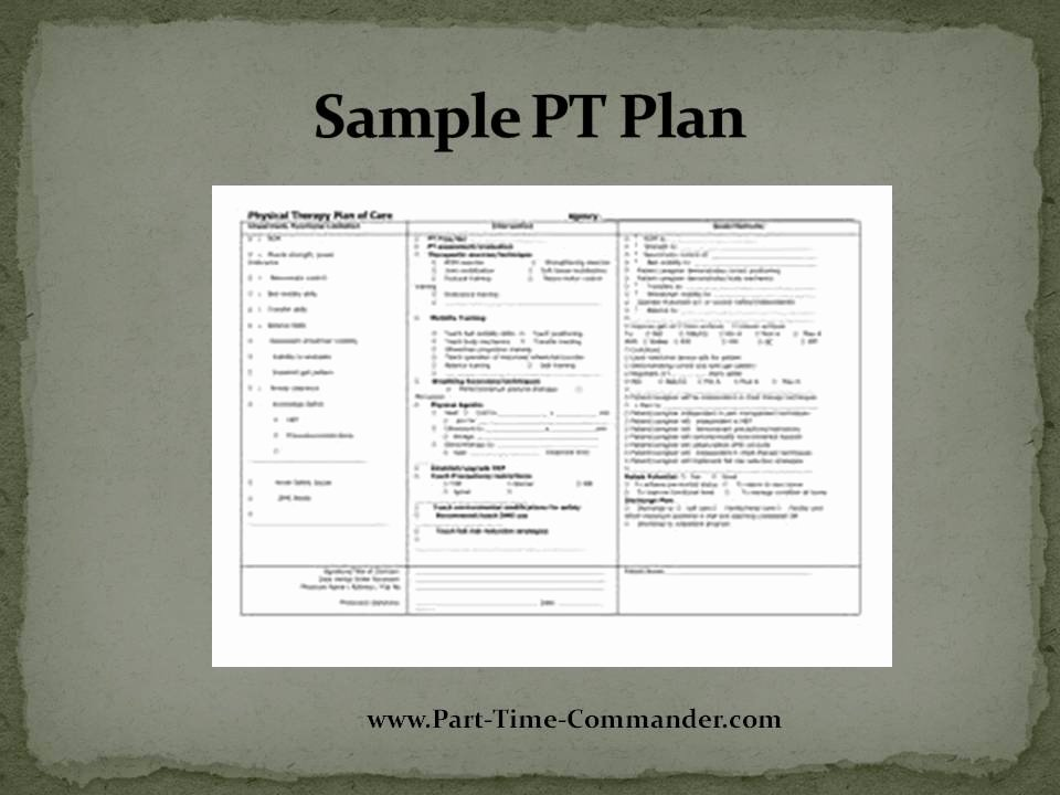 april idt sample pt plan
