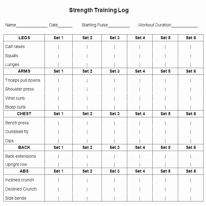 Army Training Plan Template Luxury Pt Schedule Template 8 Sample Schedule Sustaining Phase