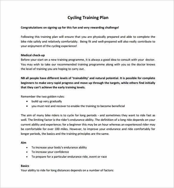 Army Training Plan Template New Army Training Army Training Plan Template