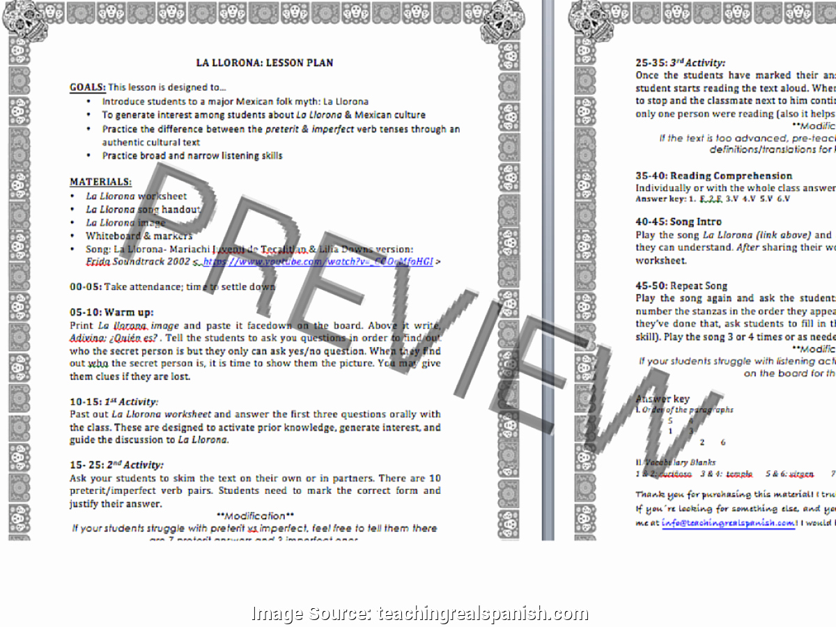 Asca Lesson Plan Template Elegant Great Lesson Plan Example Doc Session Planning Template