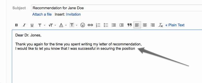 Ask Professor for Recommendation Letter Lovely ask Your Professor for A Letter Of Re Mendation Via