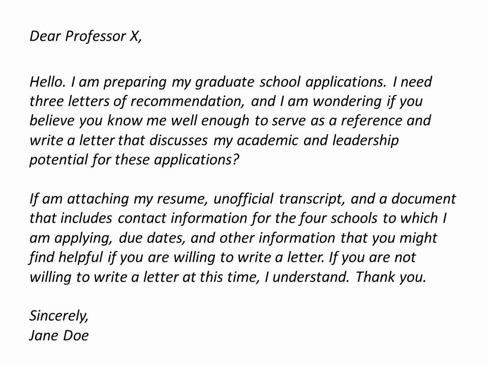 Asking for A Recommendation Letter Elegant How to ask for Letter Re Mendation