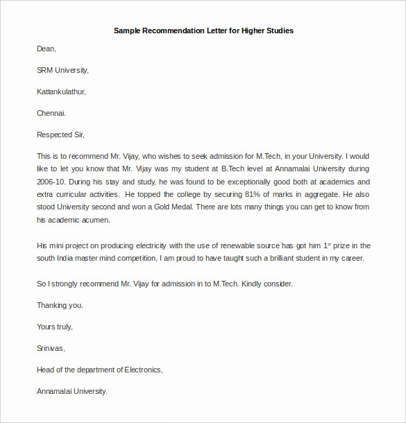 Asking for Recommendation Letter Sample Best Of 30 Re Mendation Letter Templates Pdf Doc