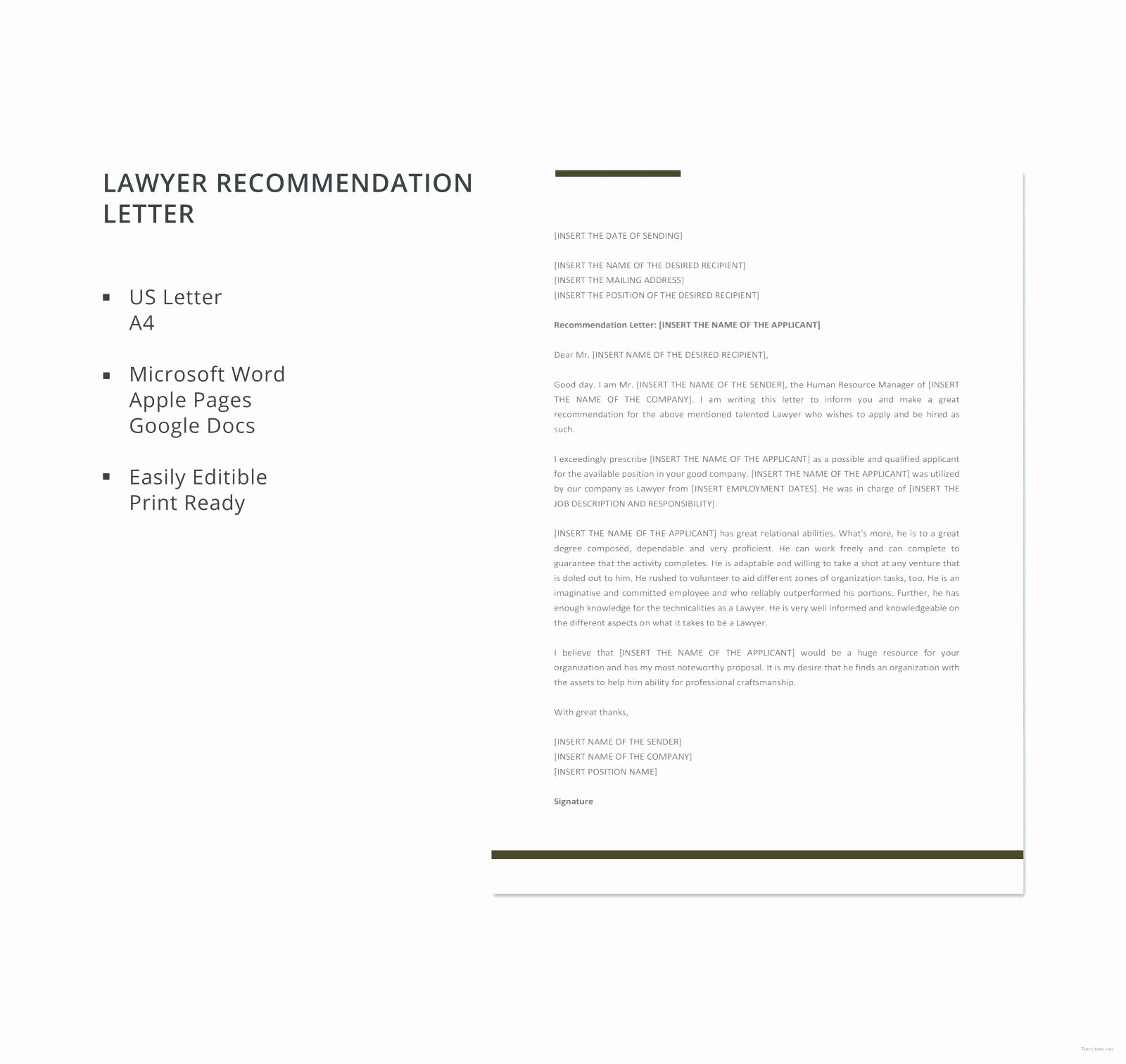 Attorney Letter Of Recommendation Awesome Law School Re Mendation Letter From Employer Samples