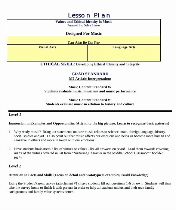 Autism Lesson Plan Template Lovely social Skills Lesson Plan Example – Bladen Munitycollege