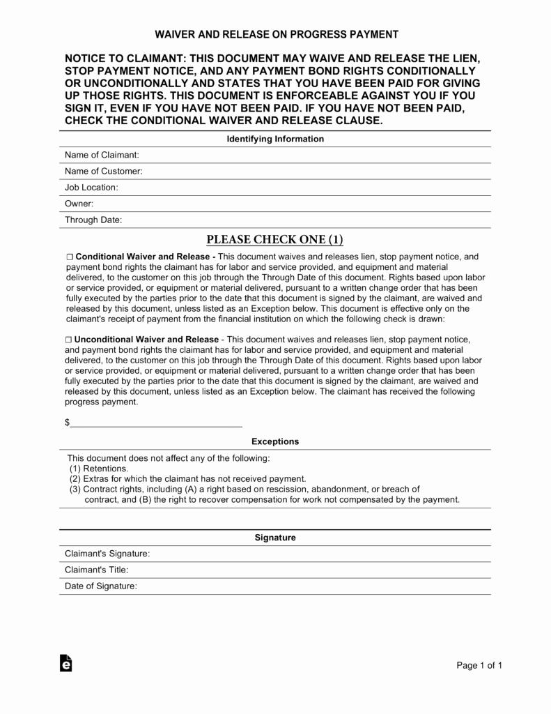 Auto Lien Release Letter Template Beautiful Free Real Estate Lien Release forms Pdf