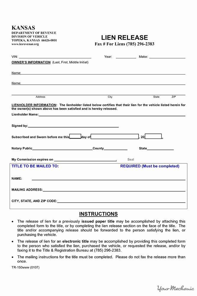 Auto Lien Release Letter Template Beautiful How to Find Out if A Car Has A Lien On It